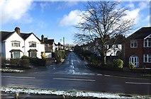 SJ8545 : Hartshill: Longfield Road from Albany Road by Jonathan Hutchins