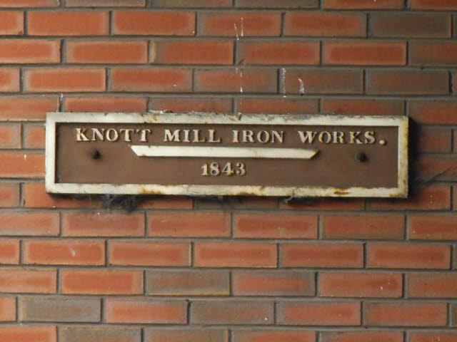 Knott Mill Iron Works 1843