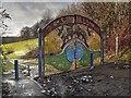 SD8500 : Entrance to Sandhills by David Dixon