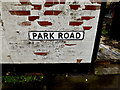 TM4656 : Park Road sign by Adrian Cable