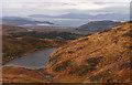 NM9939 : Slopes descending towards lochan by Trevor Littlewood