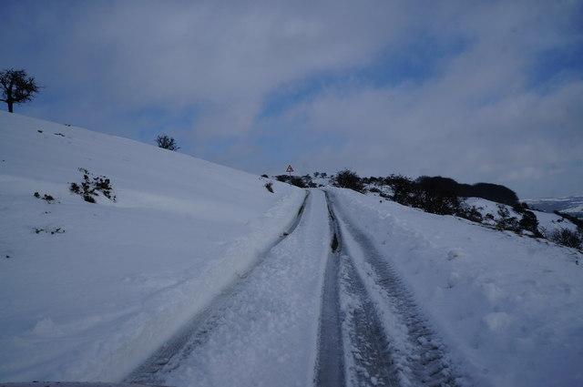 Moor Road on Longstone Edge