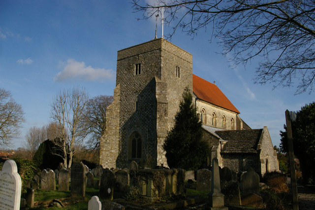 Steyning: church of St Andrew and St Cuthman