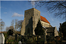 TQ1711 : Steyning: church of St Andrew and St Cuthman by Christopher Hilton