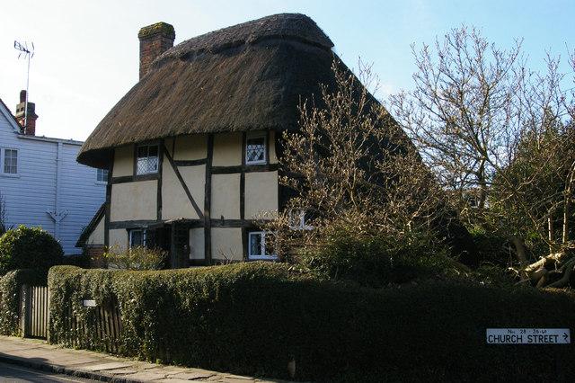Saxon Cottage, Church Street, Steyning