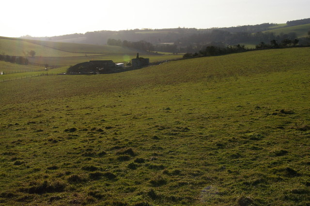 Frieslands from the South Downs Way