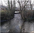 SO0002 : Confluence of the Dare and Cynon in Aberdare by Jaggery