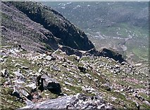 NH0068 : Playground for wild goats on Slioch by Alan Reid