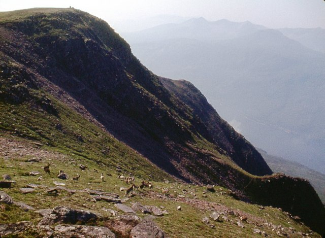 Western slopes of Slioch
