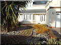 SX9575 : Landscaping, new house frontage, Fordens Lane, Holcombe by Robin Stott
