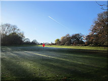 TQ1684 : On the golf course at Horsenden Hill by Peter S
