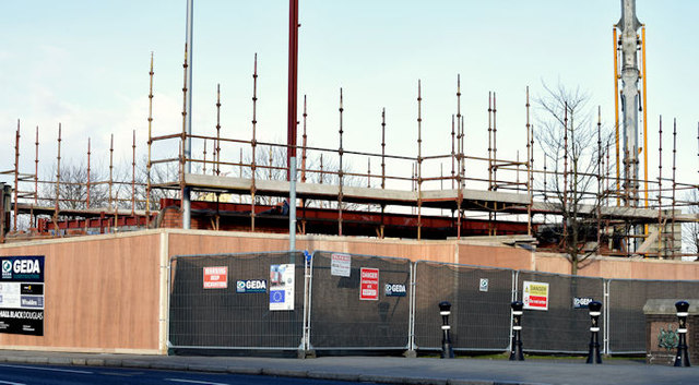 New Connswater visitor centre, Belfast - February 2015(1)