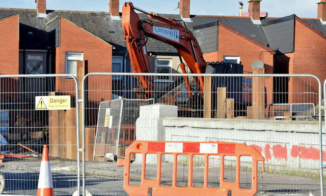 Connswater works, Mersey Street bridge - February 2015(1)