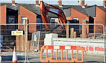 J3674 : Connswater works, Mersey Street bridge - February 2015(1) by Albert Bridge