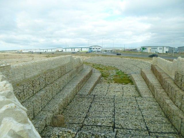Portland, sea defences