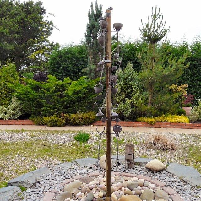 Sensory garden feature