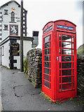NY3915 : Telephone Box, Patterdale, Cumbria by Christine Matthews