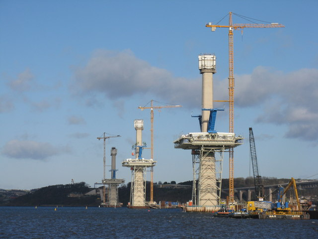 Towers of the Queensferry Crossing
