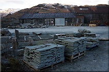 NY3204 : Elterwater Slate Quarry by Ian Taylor