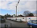 TQ1867 : Construction site, Etwell Place by Hugh Venables