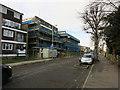 TQ1867 : New flats on King Charles' Road by Hugh Venables