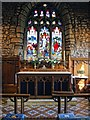 SK5350 : Interior of the Church of St Michael & St James, Linby cum Papplewick by Dave Hitchborne