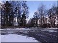 NJ5703 : Crossroad west of Lumphanan by Stanley Howe