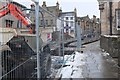 NT2540 : Road works on Cuddy Bridge, Peebles by Jim Barton