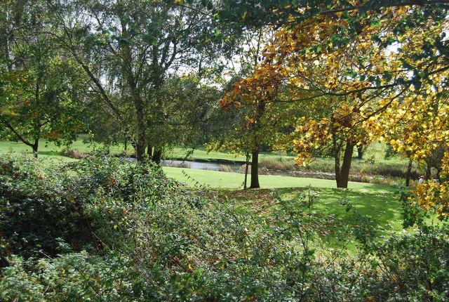 Pond, Barnham Broom Golf Course