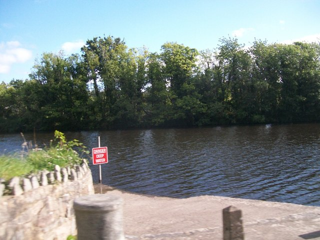 Launching point on the Newry Canal