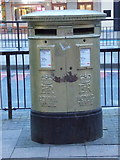 TQ3884 : Stratford: postbox № E15 39, Broadway by Chris Downer