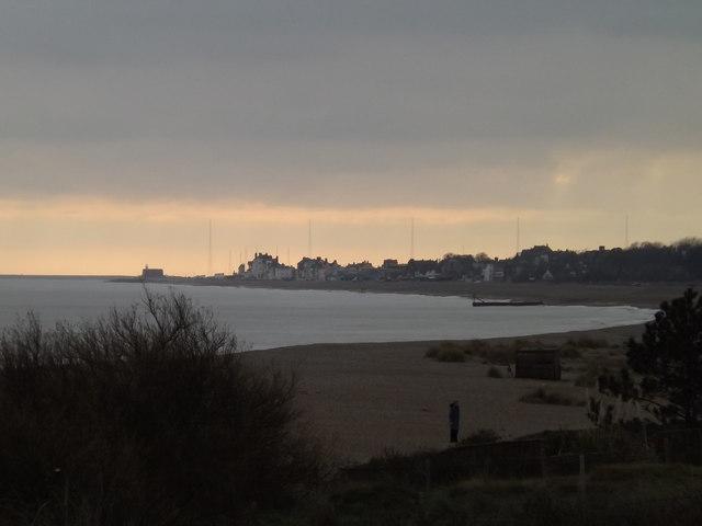 Looking towards Aldeburgh