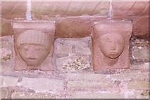 SO4430 : Kilpeck Church Carvings by paul wood