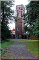 SK4003 : Disused water tower, Bosworth Hall, Market Bosworth by Jaggery