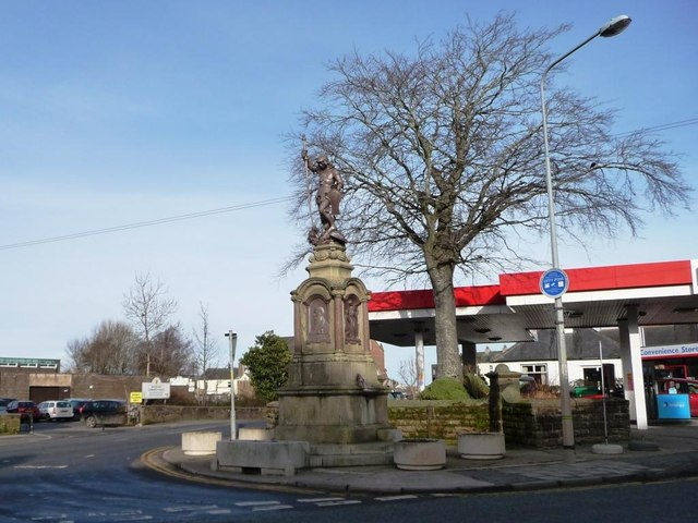 Sir Wilfred Lawson's memorial fountain, Aspatria