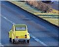 J3775 : Citroen 2CV, Sydenham bypass, Belfast (February 2015) by Albert Bridge