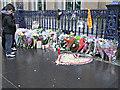 NS5965 : Floral tributes - Glasgow bin lorry crash by Thomas Nugent