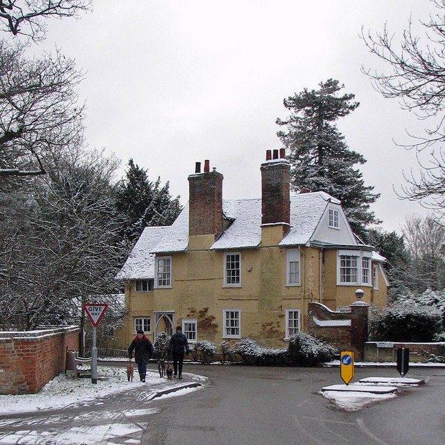Little Shelford: The Old House in February