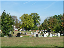 TQ3473 : Camberwell Cemetery by Robin Webster