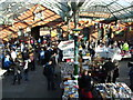 NZ3669 : Tynemouth Metro Station Saturday Market by Andrew Tryon