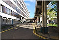 TG1907 : UEA - Teaching Wall and elevated walkway by N Chadwick