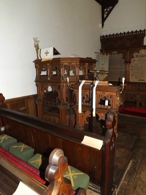 Pulpit & Lectern of St.Andrew's Church