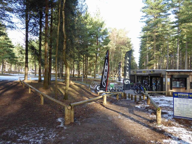 Bike Hire Cycle Shop Sherwood Pines 169 Steve Fareham