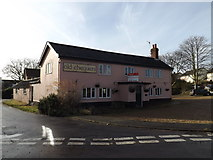 TM4160 : The Old Chequers, Friston by Geographer