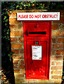 TM4656 : Park Road North George V Postbox by Adrian Cable