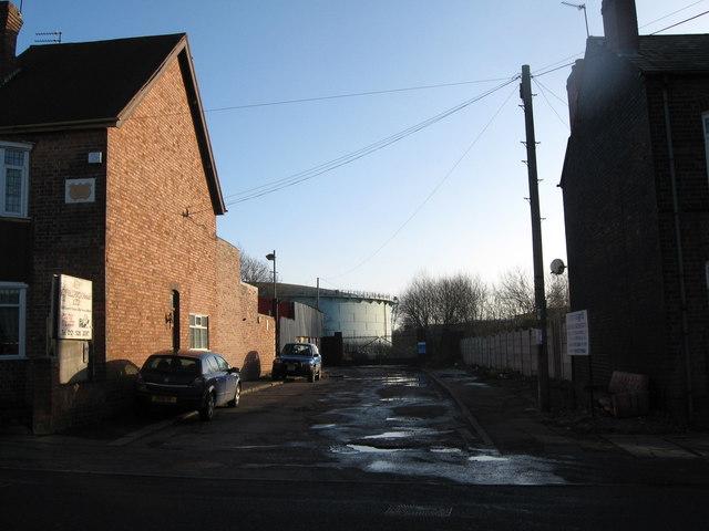 Gasworks cul de sac-Walsall, West Midlands