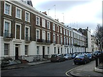 TQ2978 : Clarendon Street, Pimlico by Chris Whippet