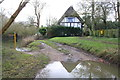 SU5996 : Ford Cottage beside ford across the River Thame by Roger Templeman