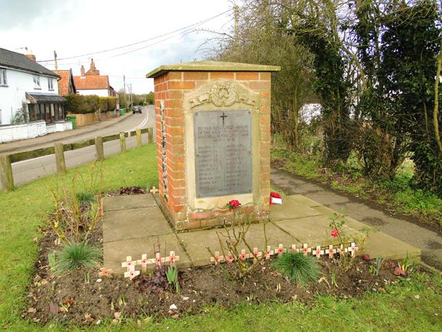 WW1 War Memorial, Wortwell
