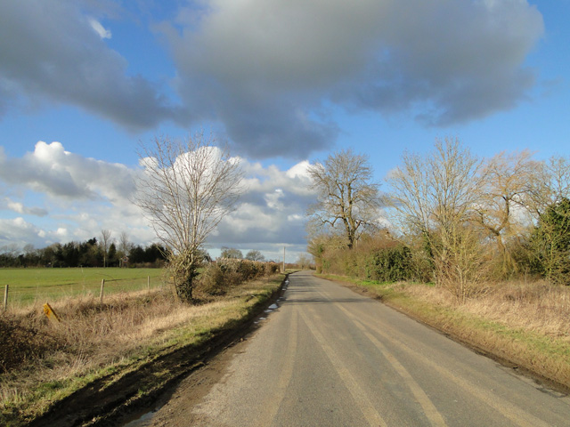 Holbrook Hill looking towards Station Road, Alburgh